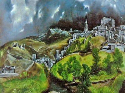 El-Greco-view-of-Toledo-1600-reprod.